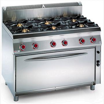 Vendita attrezzature frigoriferi e banchi per ristoranti gelaterie e farmacie cucina 6 fuochi - Cucina 6 fuochi ...