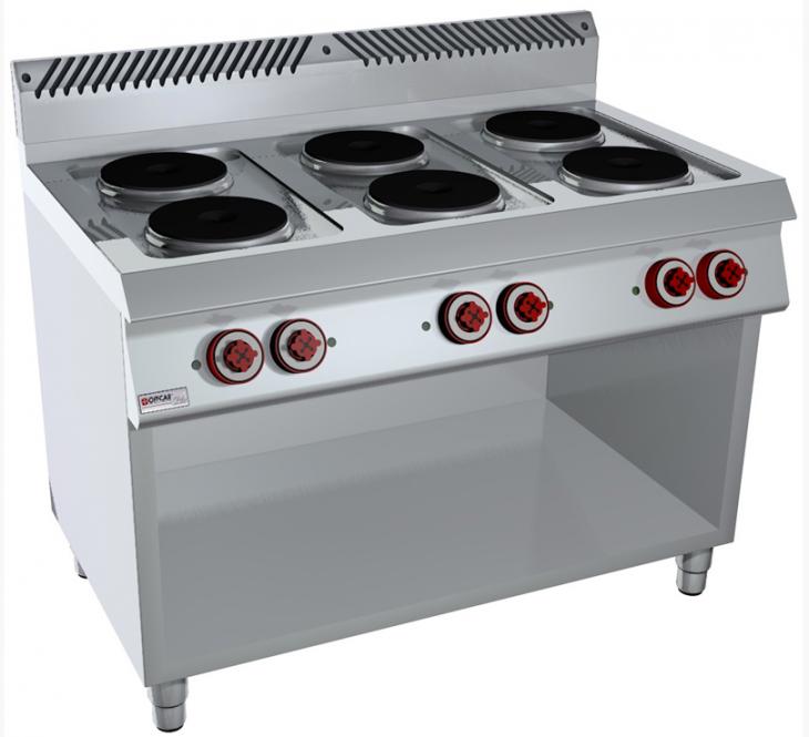 Vendita attrezzature frigoriferi e banchi per ristoranti gelaterie e farmacie cucina 6 - Piastre per cucinare elettriche ...